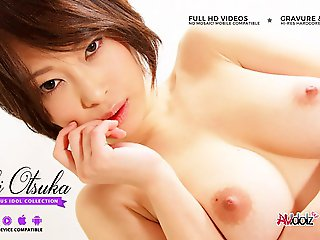 blowjob, big tits, Saki Otsuka Gets Toy And Boner The greatest Her Soul - AviDolz