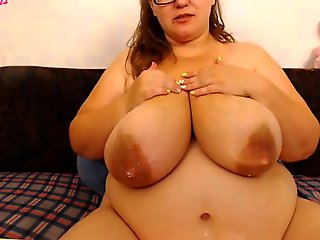 big nipples, bbw, Milk