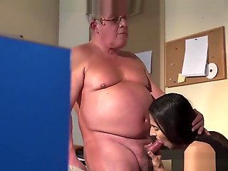 babe, straight, Brunette Teen Angela Allison Fucking Senior Manager