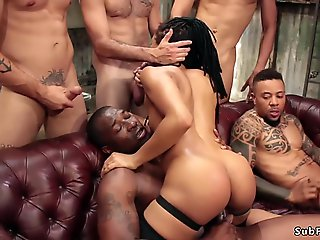 group sex, gangbang, interracial