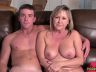 blonde, amateur, Family Sex Interview #2