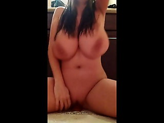 18 year old, orgasm, big natural tits