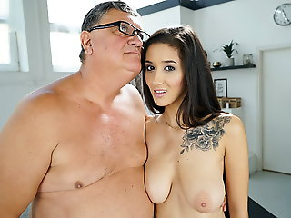 blowjob, babe, Mr Big Darcia Lee having sexual congress with an old man