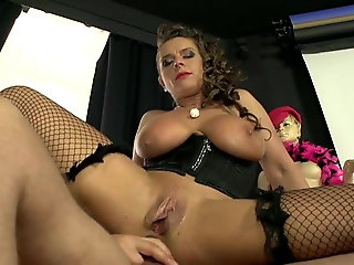 stockings, anal, Stockings Anal Big Tits German Sexy Susi