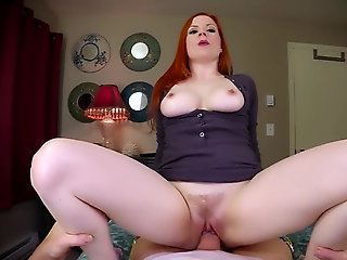 milf, cumshot, Family sex old men and young varlet
