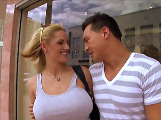 public nudity, blonde, Zoey Holliday Honcho Blonde