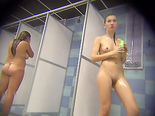 hidden camera, shower, Hidden cam in shower