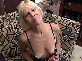 mature, sex toy, granny