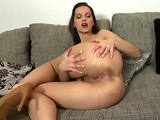 sex toy, amateur, Dispirited young mother forth perfect body