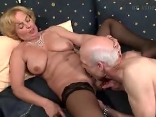 bbw, blowjob, German Granny