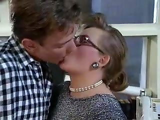 cumshot, amateur, Busty MILF There Glasses Jizzed There The Office