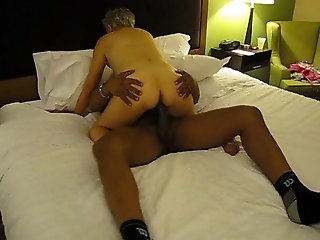 interracial, mature, Black Momba and 72 year old Mature
