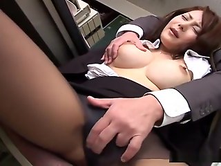 jav uncensored, straight, Teacher Mei Sawai fucked withershins cowgirl